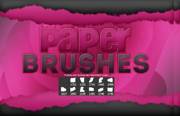 high quality paper brushes