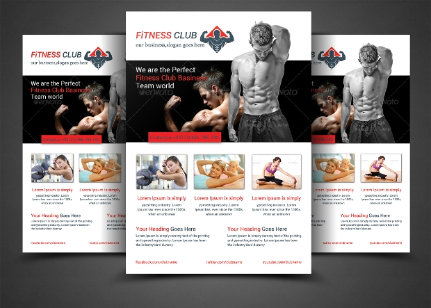Business Purpose Gym Flyer