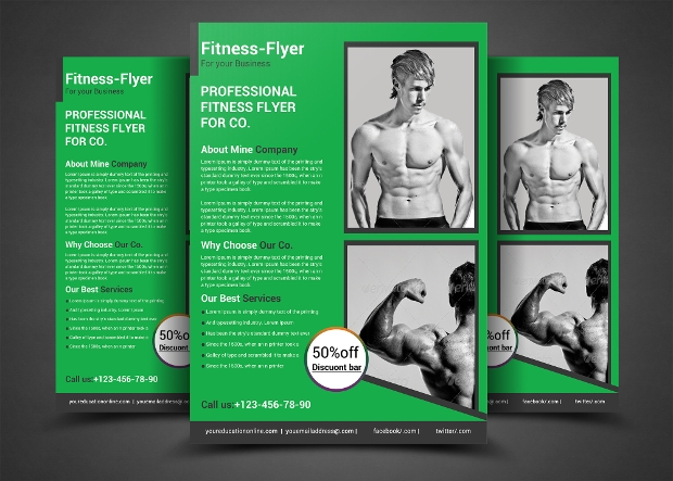 Creative Design of Gym Flyer