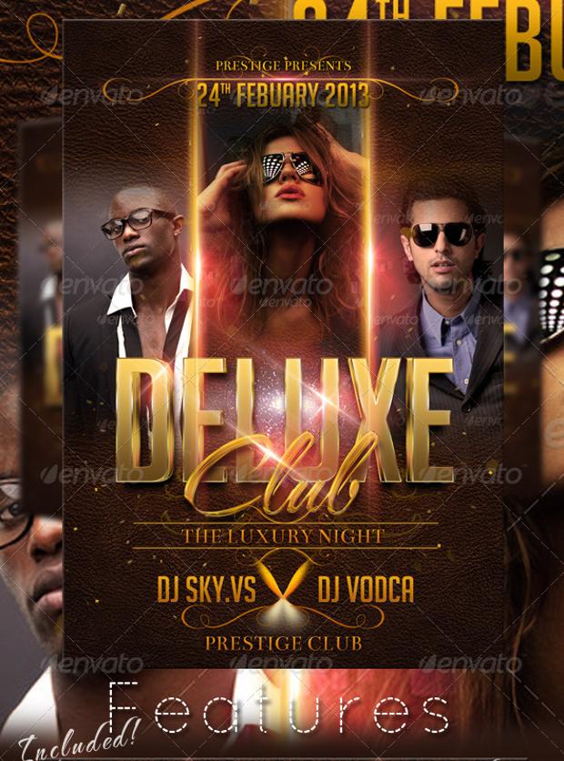 Deluxe Club Flyer