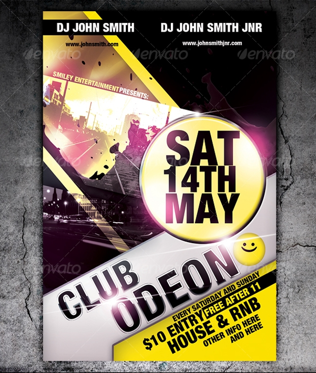 Club Odeon Flyer