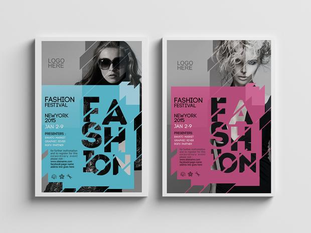 Festival Fashion Flyer
