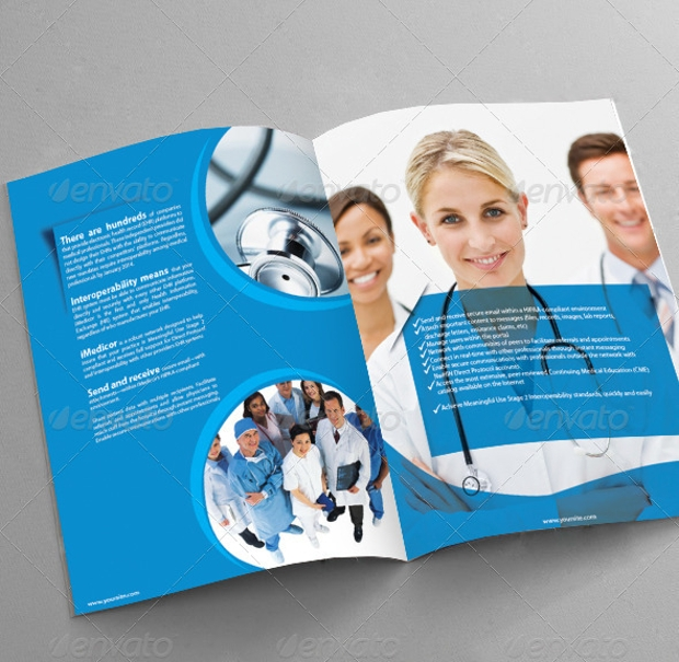 Medical Brochure Designs PSD Download Design Trends - Medical brochure template