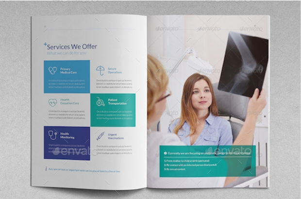 Medical Brochure Templates  Ex