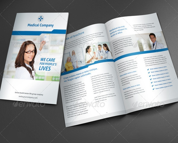 25  medical brochure designs  psd download