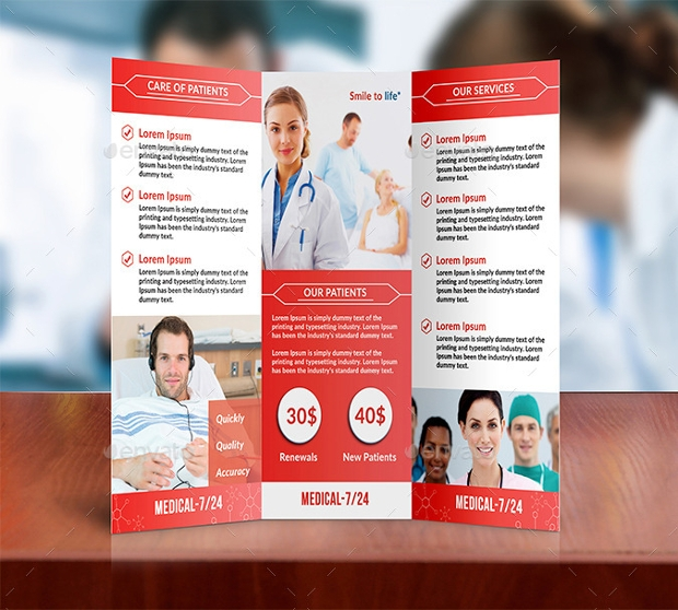 Colorful Medical Brochure Design