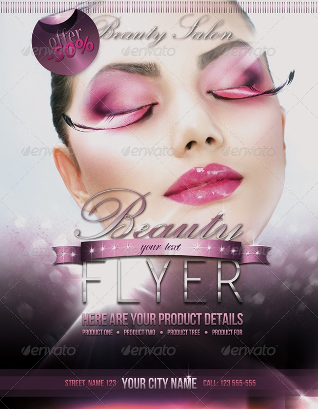 Beauty Fashion Flyer