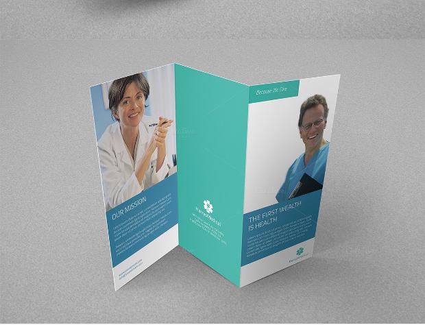 medical office brochure design