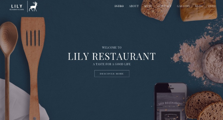 26+ Best Restaurant Website Themes & Templates | Design