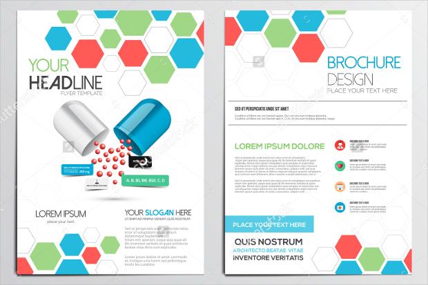 modern design brochure for medical business