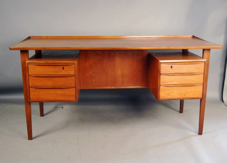 21 Danish Vintage Furniture Designs Ideas Plans  : Danish Vintage Teak Desk Furniture from www.designtrends.com size 730 x 526 jpeg 78kB