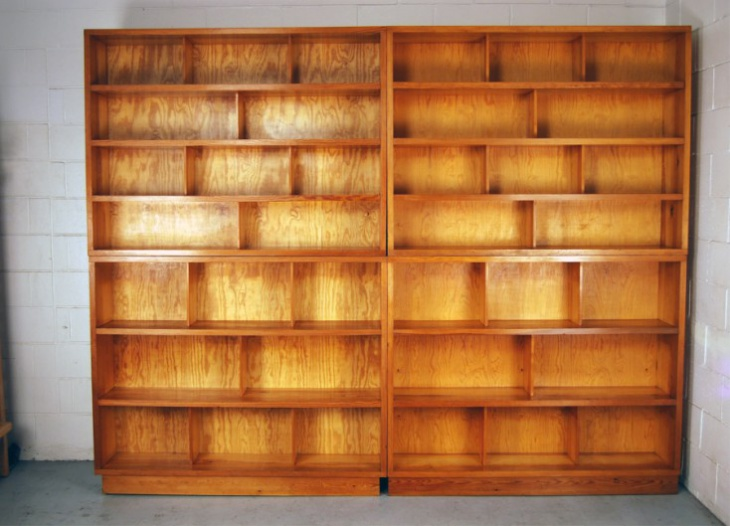 Huge Danish Vintage Book Cases