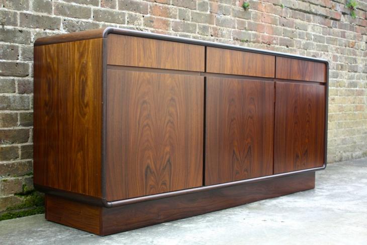 Danish Retro Style Rosewood Sideboard