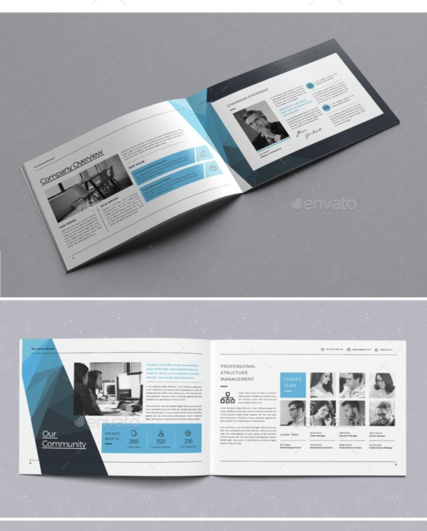 Clean and Brand Corporate Brochure