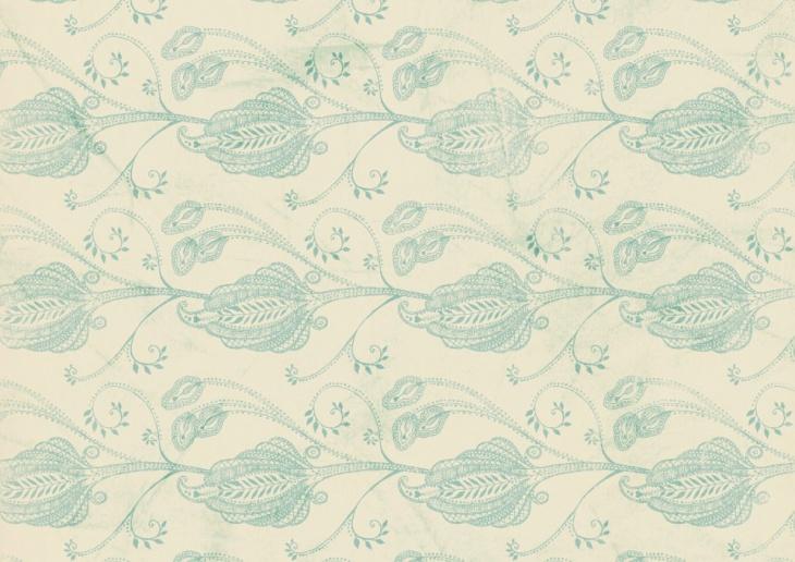 Paisley Grunge Wallpaper Pattern