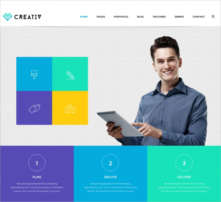 Business Bootstrap WP Template