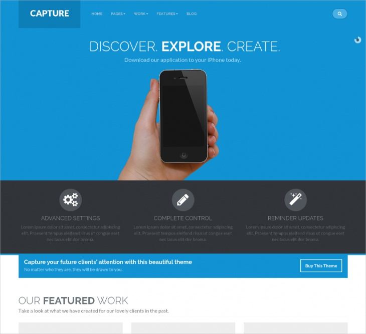 responsive bootstrap corporate wp theme