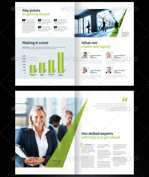 Stylish Brochure Design for Business
