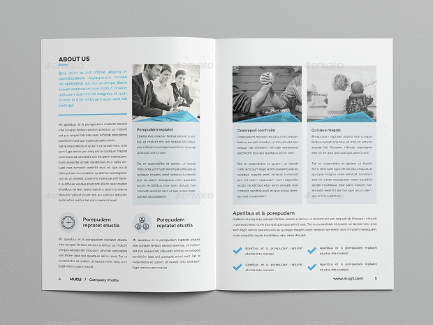 Editable Brochure Design for Business