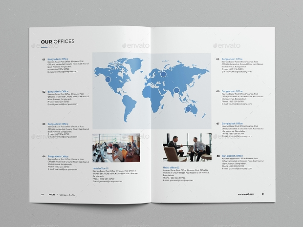 Business Booklet Brochure