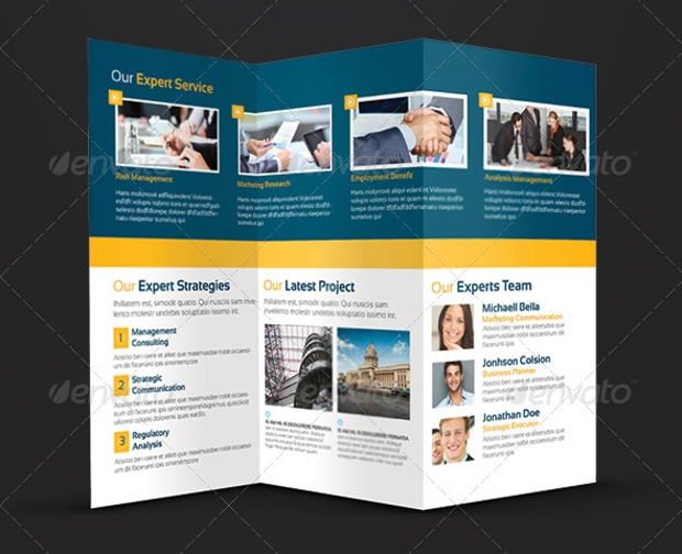 Trifold Business Brochure Design