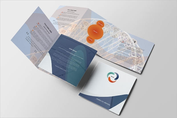 Modern Business Square Brochure