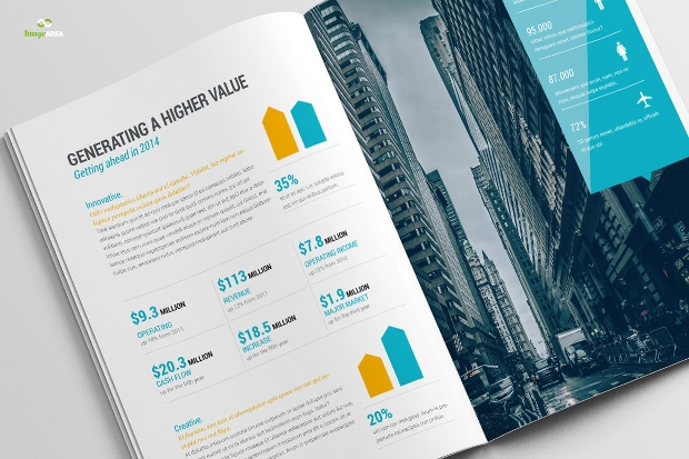 Financial Business Brochure