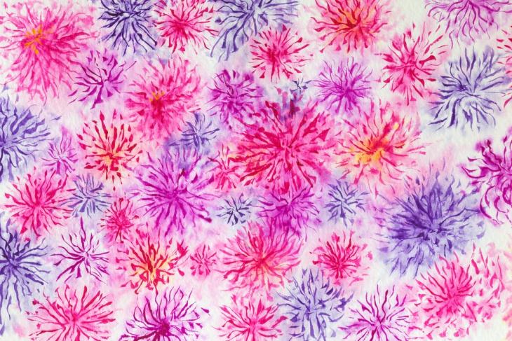 Pastel Grunge Wallpaper Pattern