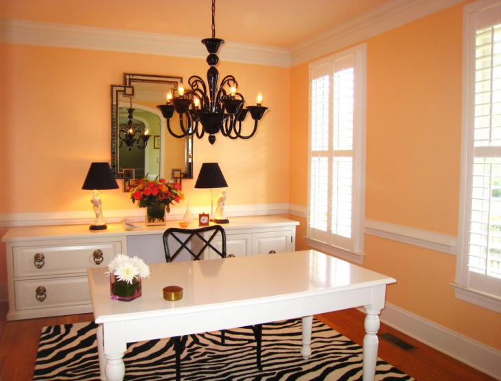 Paint For Office Walls Stunning Orange Accent Wall Home N