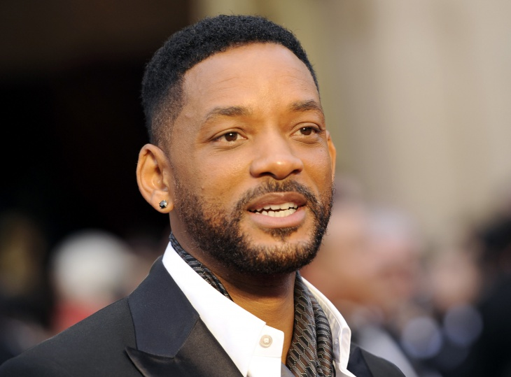 will smith short fade hair style