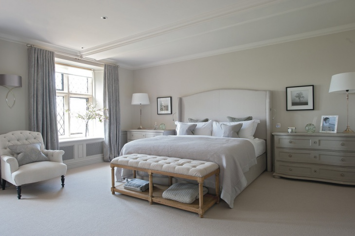 Spacious Shabby Chic Bedroom Furniture