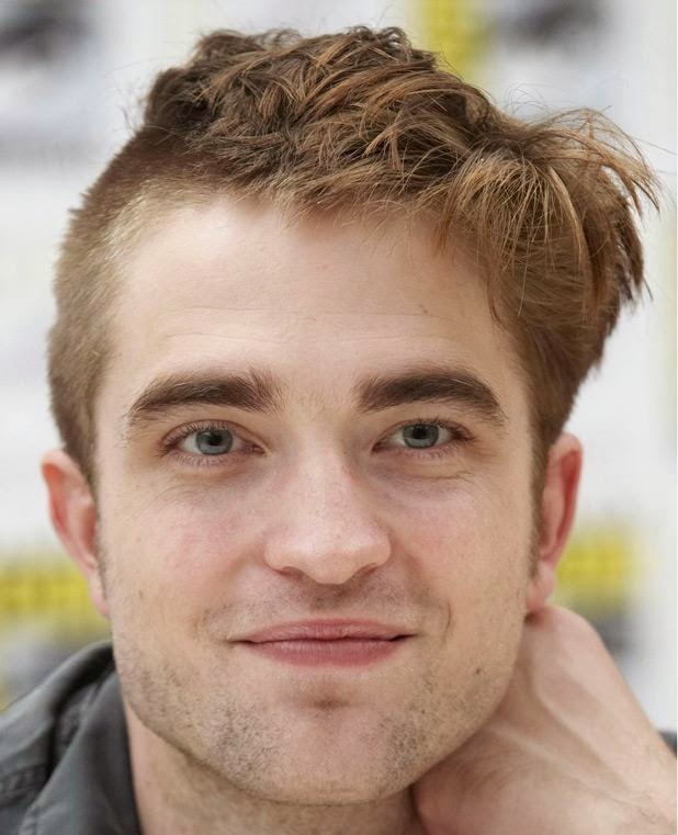 robert pattinson side fade hair cut