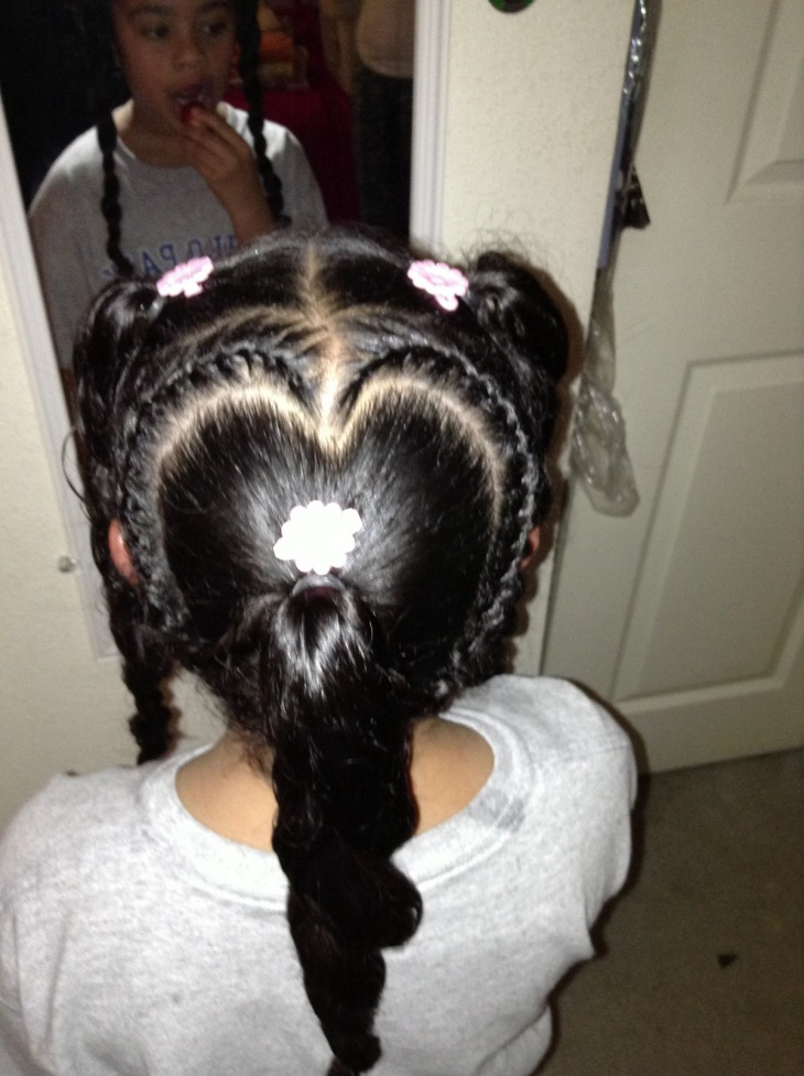 lil black girl braided hairstyles