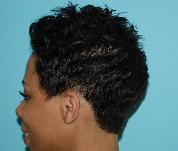 natural black short hairstyles