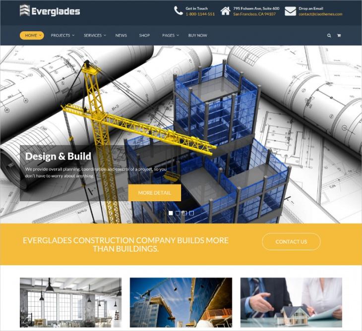 everglades construction theme