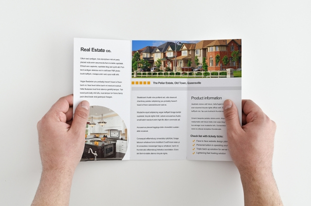 Highly Flexible Real Estate Brochure