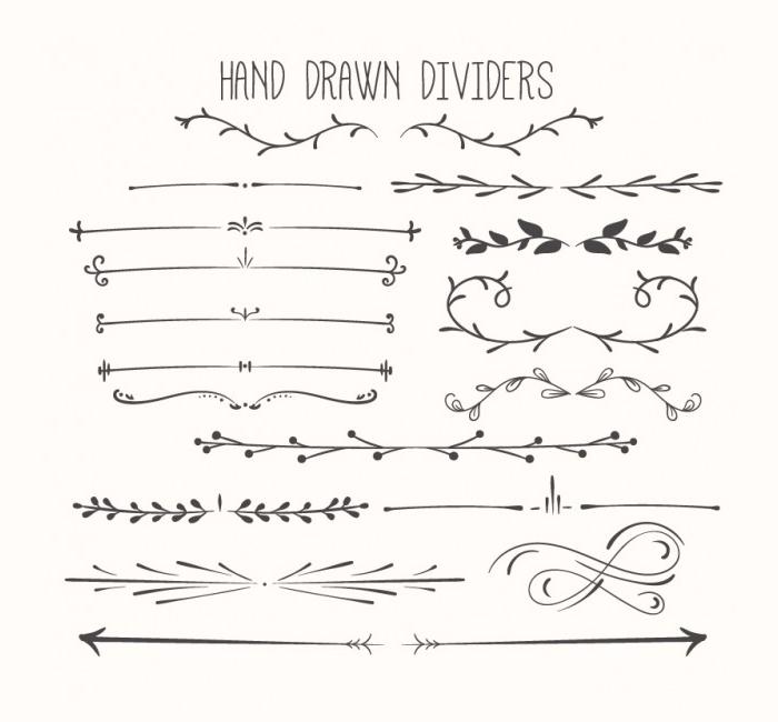 Hand Drawn Photoshop Brushes