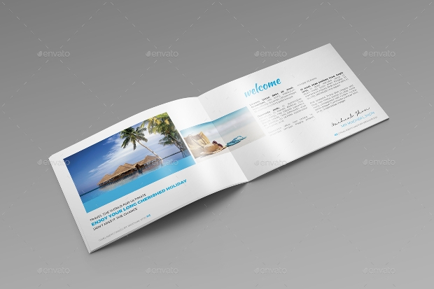 Travel Agency Landscape Brochure