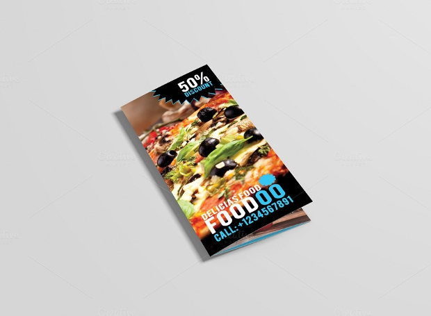 Foodoo Food & Restaurant Brochure