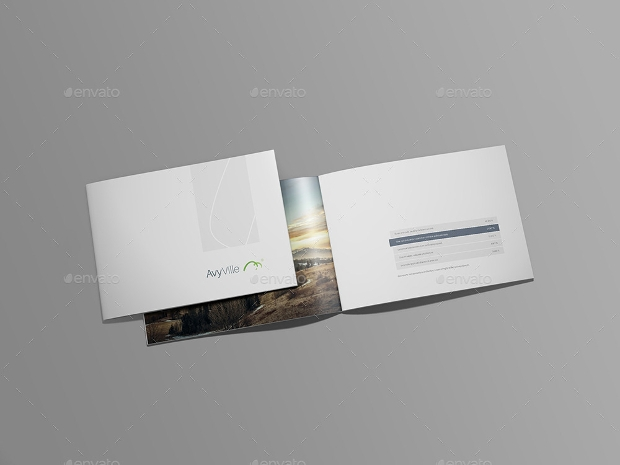 Eye Catching Landscape Brochure Design