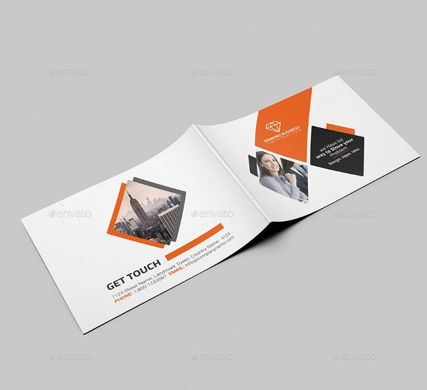 Landscape Brochure Designs Psd Download  Design Trends