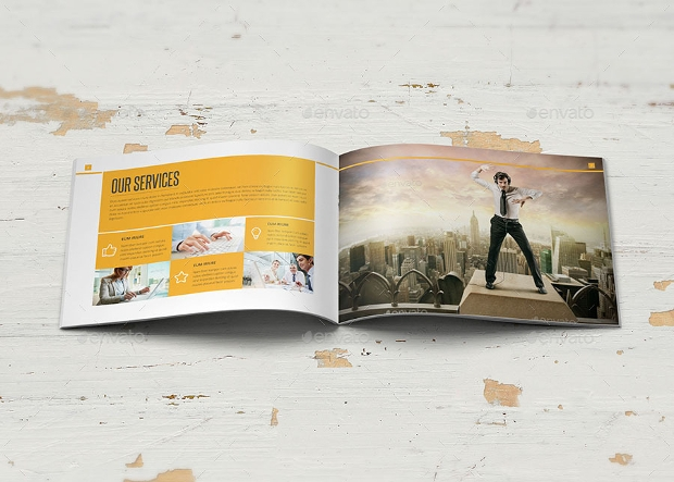 Multipurpose Landscape Brochure Design