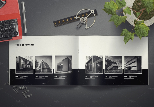 Awesome Architecture Landscape Brochure
