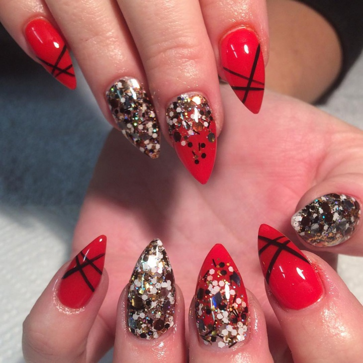 Pictures Of Acrylic Nails Designs Red Rock Cafe