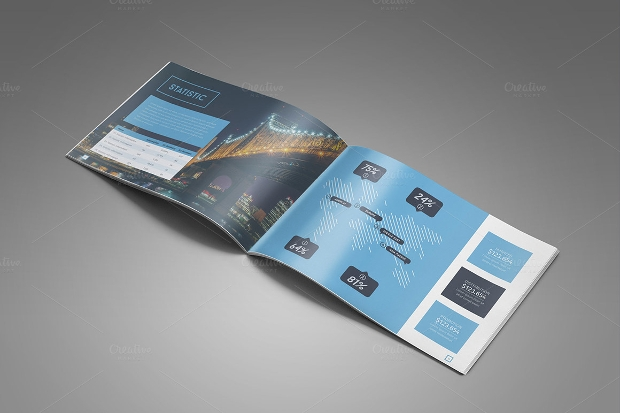 Business Landscape Brochure Design