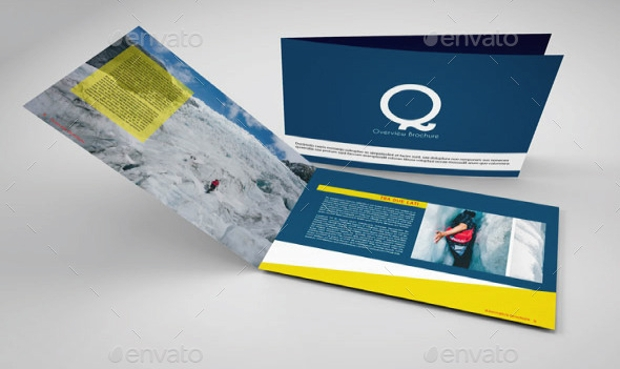 Cool Design of Landscape Brochure