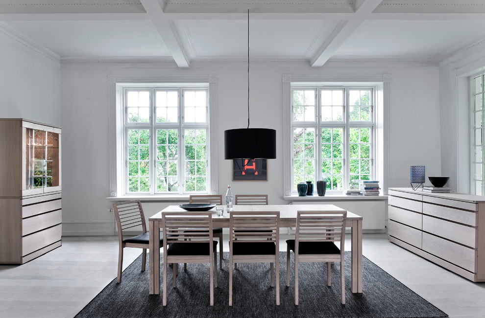 Beautiful Scandinavian dining room furniture