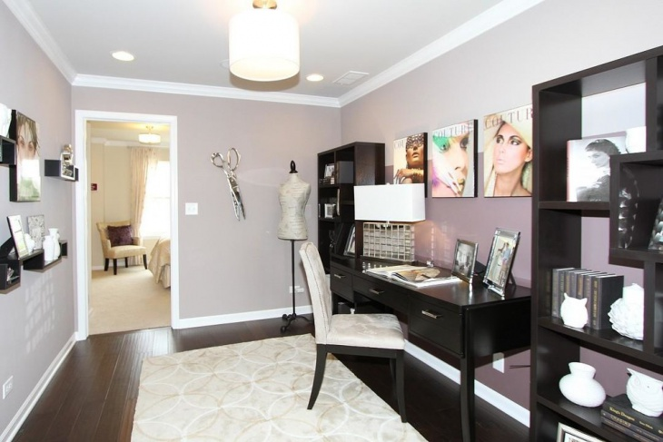 belmont model feminine work space idea