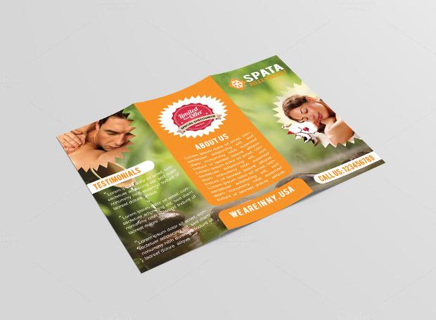 Spata Spa & Beauty Tri Fold Brochure