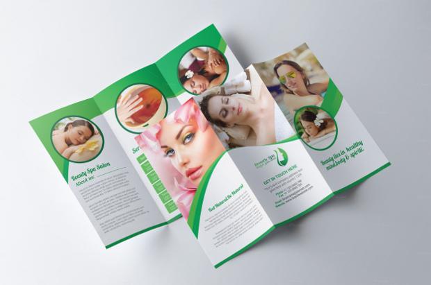Spa & Beauty Salon Brochure